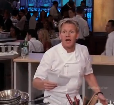 upon further review i think nona has also become a bit of a crackhead - Hells Kitchen Season 18
