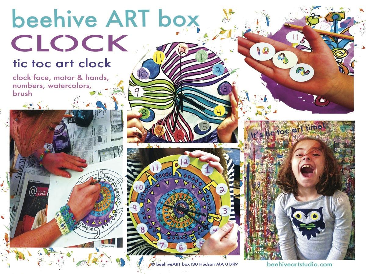 beehive CLOCK  ARTbox