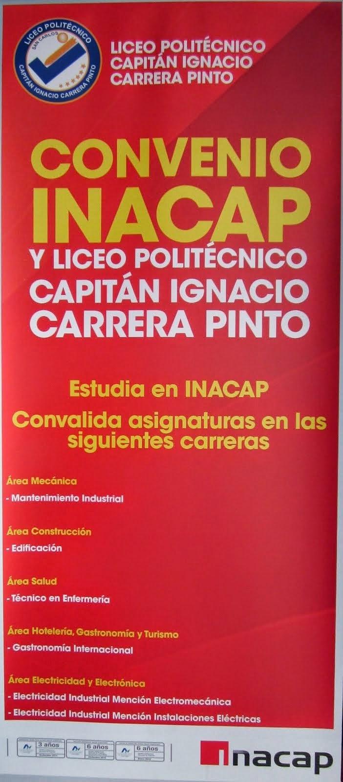 Convenio Inacap Chillán