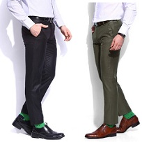 INVICTUS Men's Trousers – Min 66% – upto 71% Off @ Flipkart
