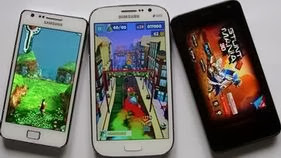 Android games on mobile phones