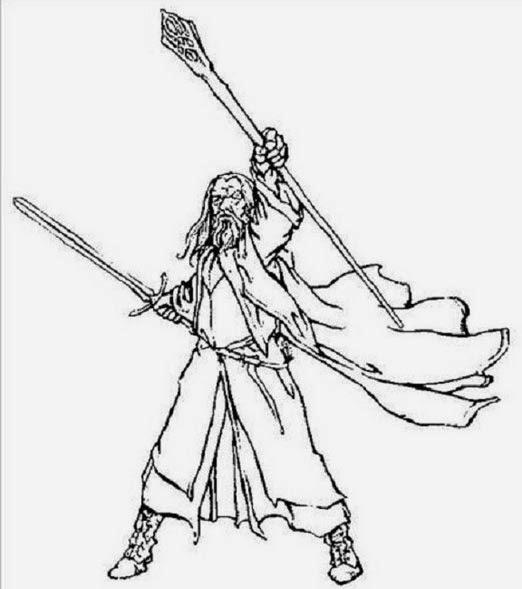El Hobbit - ¡Dibuja a sus personajes!