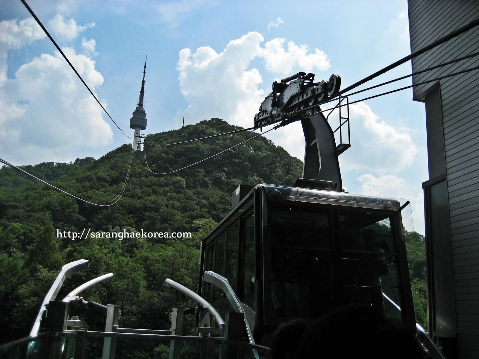 Namsan cable car - 6 Fun Activities You Can Enjoy At Namsan Seoul Tower