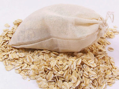 Great way to take care of the skin: bags of oats for the shower causes of acne  massage the skin