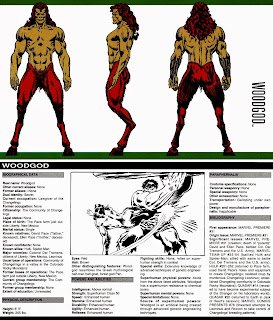 Woodgod Ficha Marvel Comics