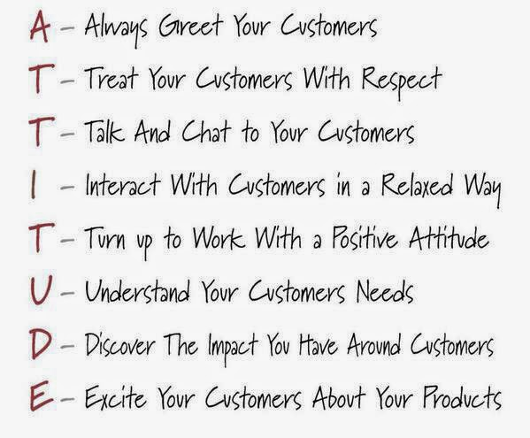 Virtual Handling: The Best of Customer Service - A Positive ...