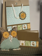 Stampin' Up! Spice Cake Owl and Gift Bag Class Instructions
