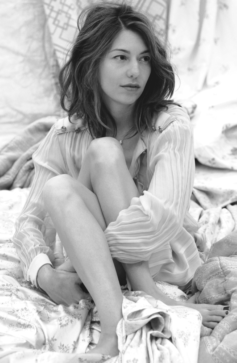 Sofia Coppola wearing Chloe in AnOther September 2009 (photography: Craig McDean)