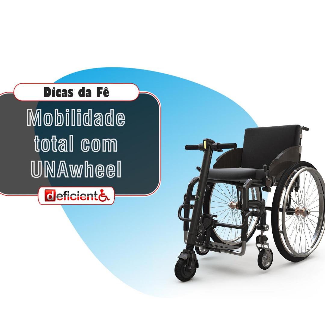 Mobilidade total com a Unawheel