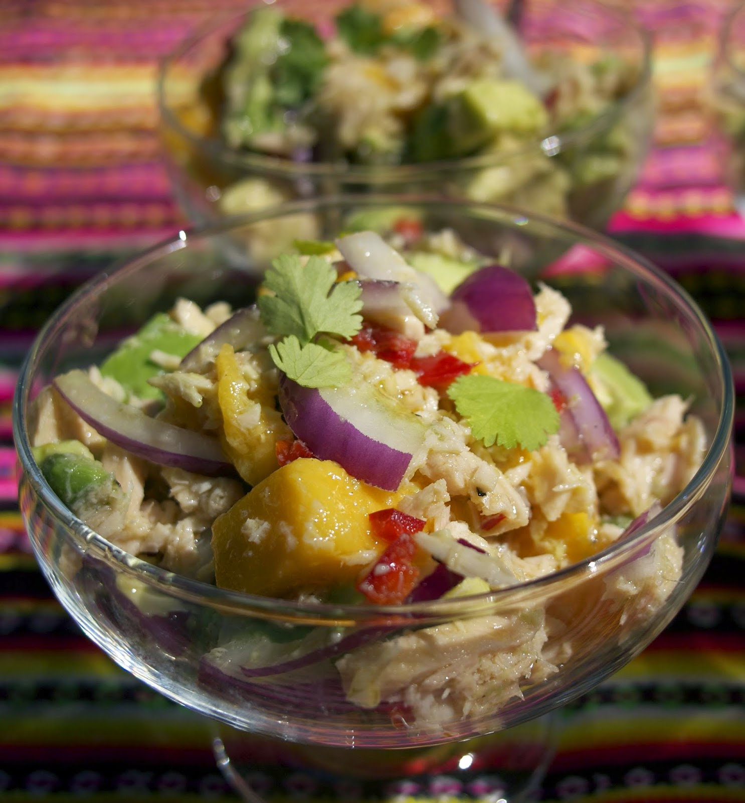 West African Tuna Salad- simplelivingeating.com