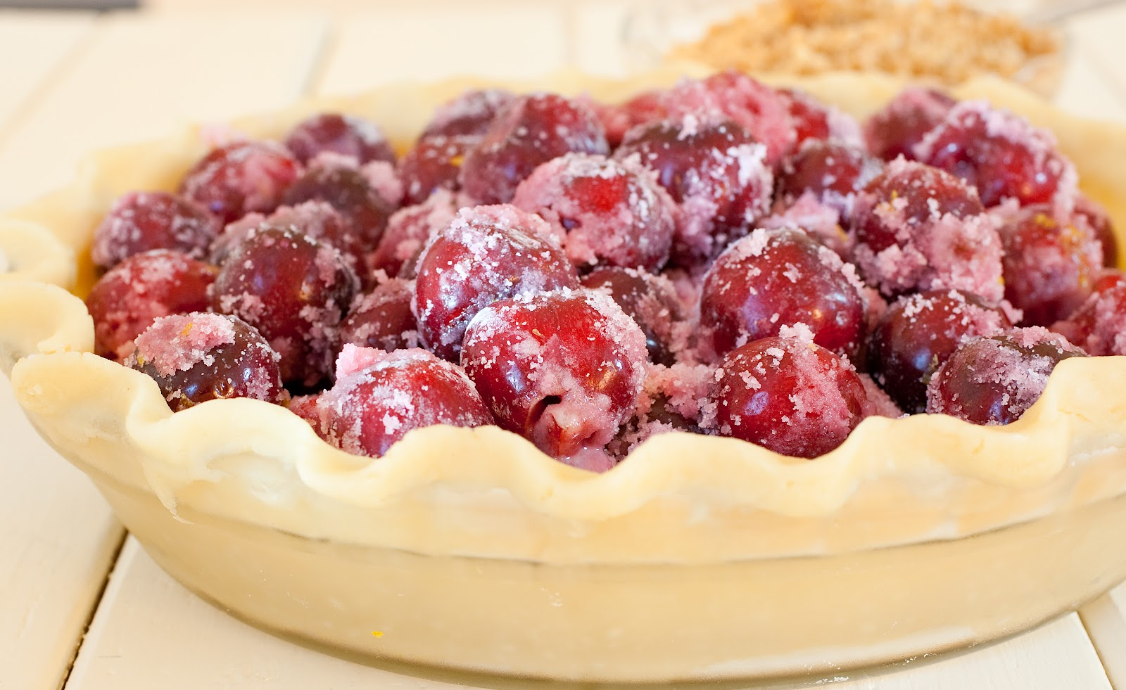 Tish Boyle Sweet Dreams: Fresh Cherry Crumble Pie