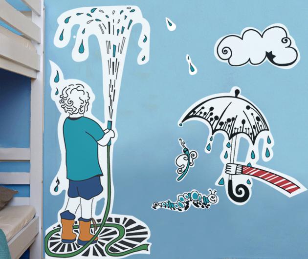 Asilo Nido - Murales - Dipinto - Decorazione Pareti