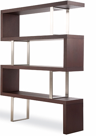 Zig zag lack shelf bookcase get home decorating for Mensole ikea lack