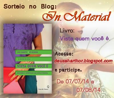 deusaharthor.blogspot.com.br/2014/07/sorteio-livro-vista-quem-voce-e.html
