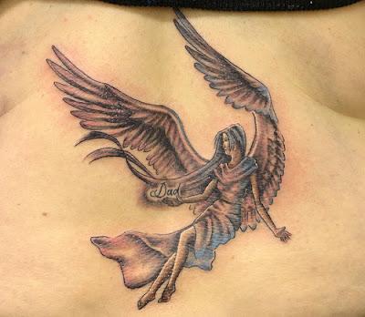 Tatuagem Angelica
