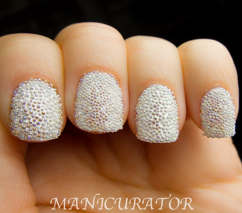 manicurator: Fish Egg (Molecule Manicure) and Caviar Nails comparison!