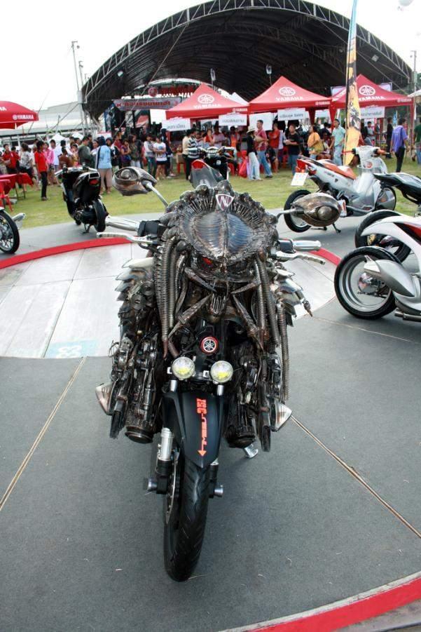 21 Modifikasi Sepeda Motor Aneh dan keren - Keseharianku