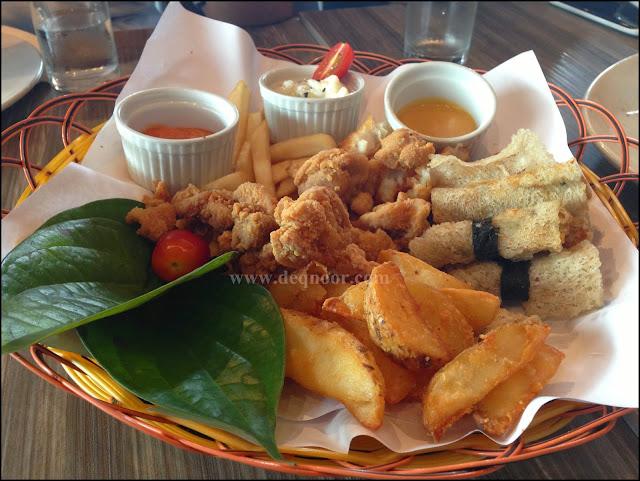 Combo Platter U-Cafe