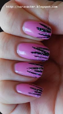 naglar, nails, nagellack, nail polish, pink, rosa, isaora, nail art,
