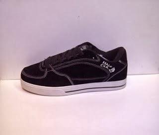 Sepatu Vans Half Cap Import hitam murah,