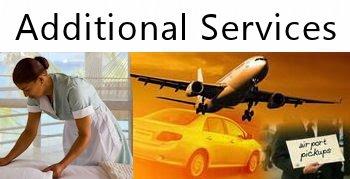 RICHIESTA DI SERVIZI - ADDITIONAL SERVICES