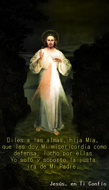 foto mensaje de jesus misericordioso
