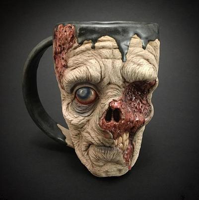 gelas zombie unik