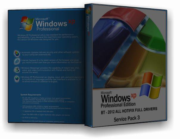 Windows Xpbt SP3 2012 All Hotfix Full Drivers Capa xp 2012 2Bc 25C3 25B3pia
