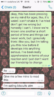 Check Out This Lady's Response To A Guy Asking Her Out (Screenshot)