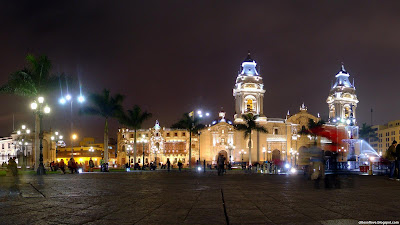 Lima Wonderful And Gorgeous Capital City Center Peru Hd Desktop Wallpaper
