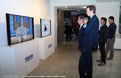 Samsung Sponsoring - Ben Heine Smart Televisions Digital Display