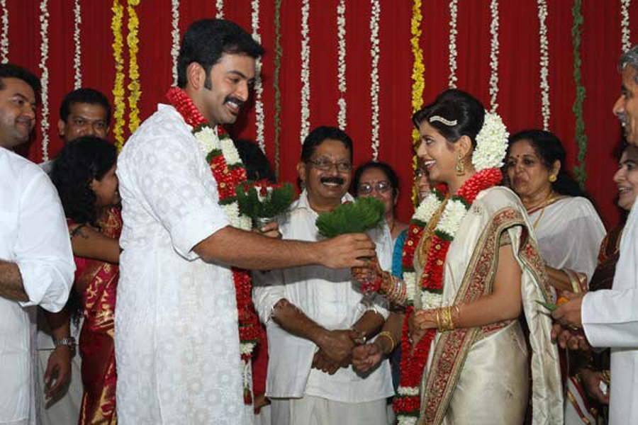Prithviraj Sukumaran Kerala Fans Blog PRITHVIRAJS WEDDING PICS