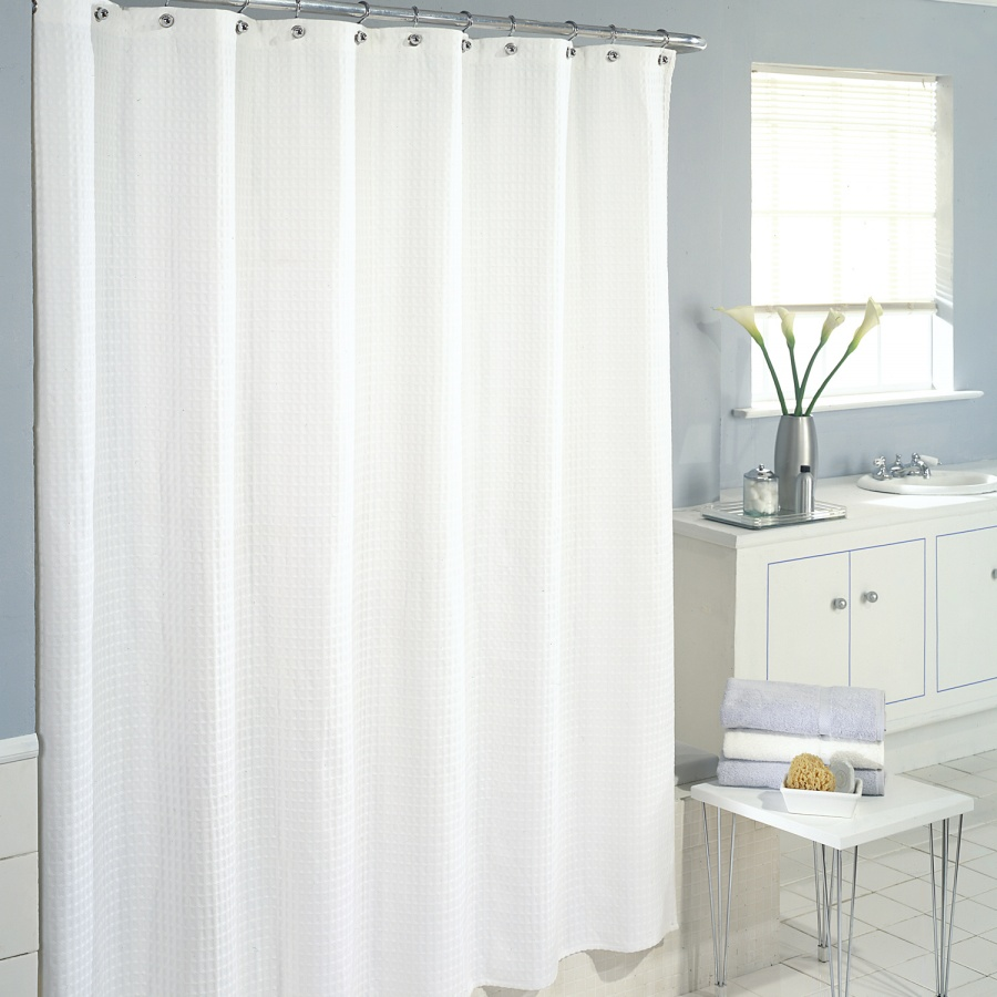 Beautiful and Elegant Bathroom Curtain Remodeling Ideas ...