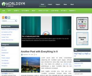 WorldSym WordPress Theme