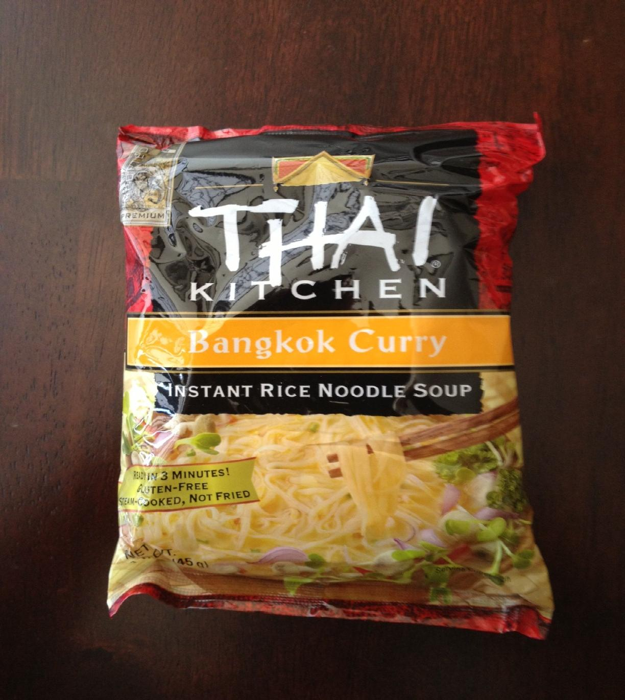 ... Dinner?: Modified Thai Kitchen Bangkok Curry Instant Rice Noodle Soup