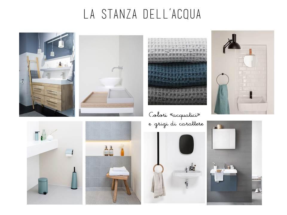 E-design shop: il bagno notte cambia look • la tazzina blu
