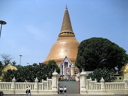 Thailand Travel: Phra Pathom Chedi