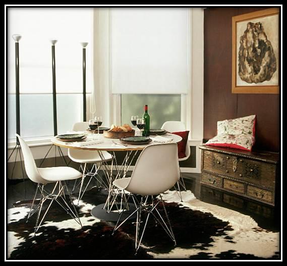 Sala De Jantar Com Tapete De Couro ~ Tapete+de+Couro+em+Sala+de+Jantarjpg