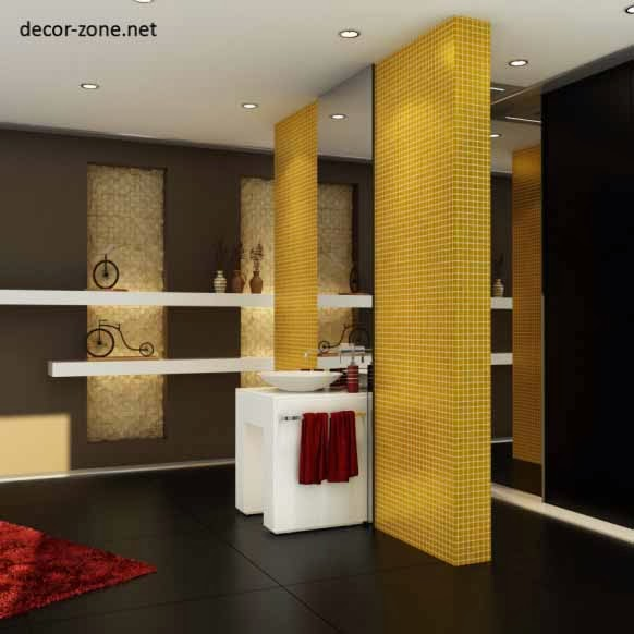 creative bathroom mirrors ideas designs choice and placement