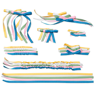 Knots and Ties Trim Digital Embellishments