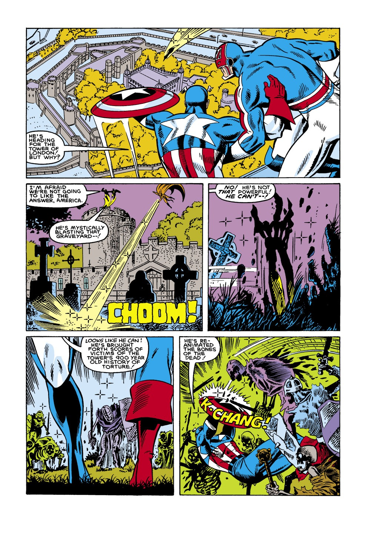 Captain America (1968) Issue #306 #234 - English 17