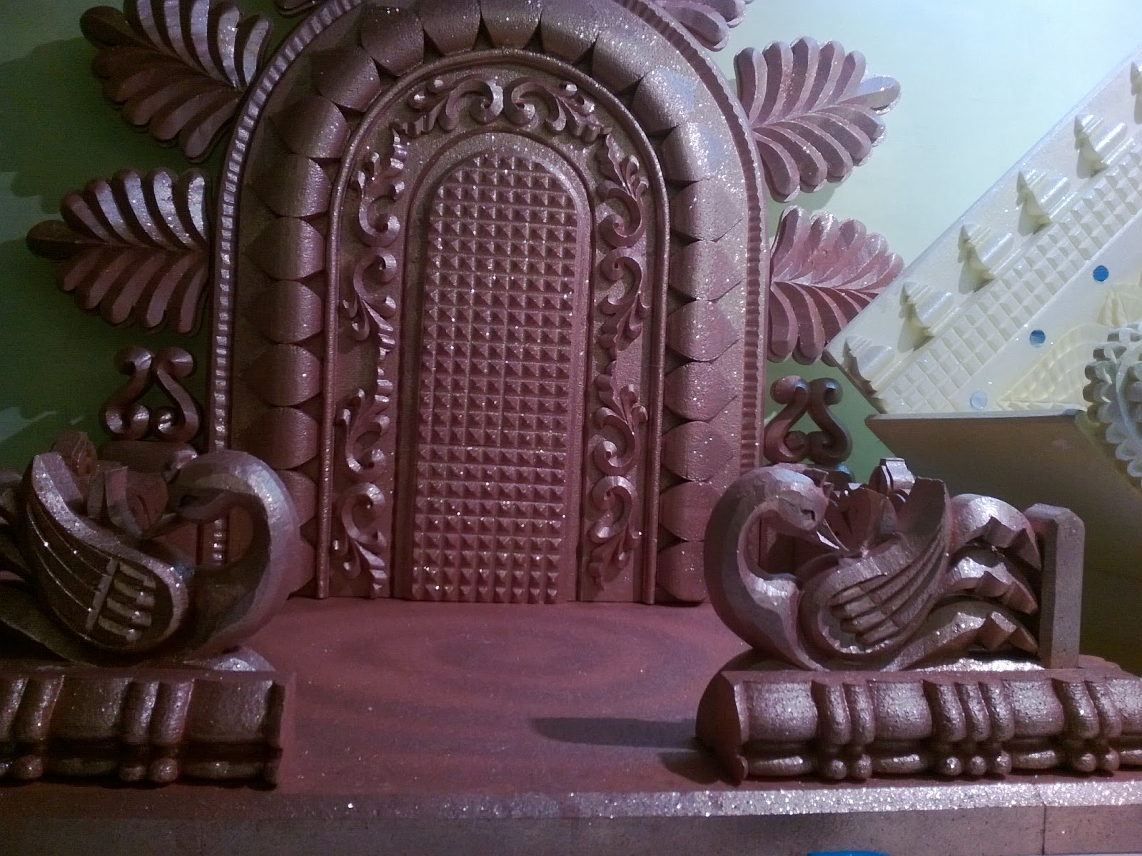 Thermocol sheet makhar design work joy studio design for Room decor ulhasnagar