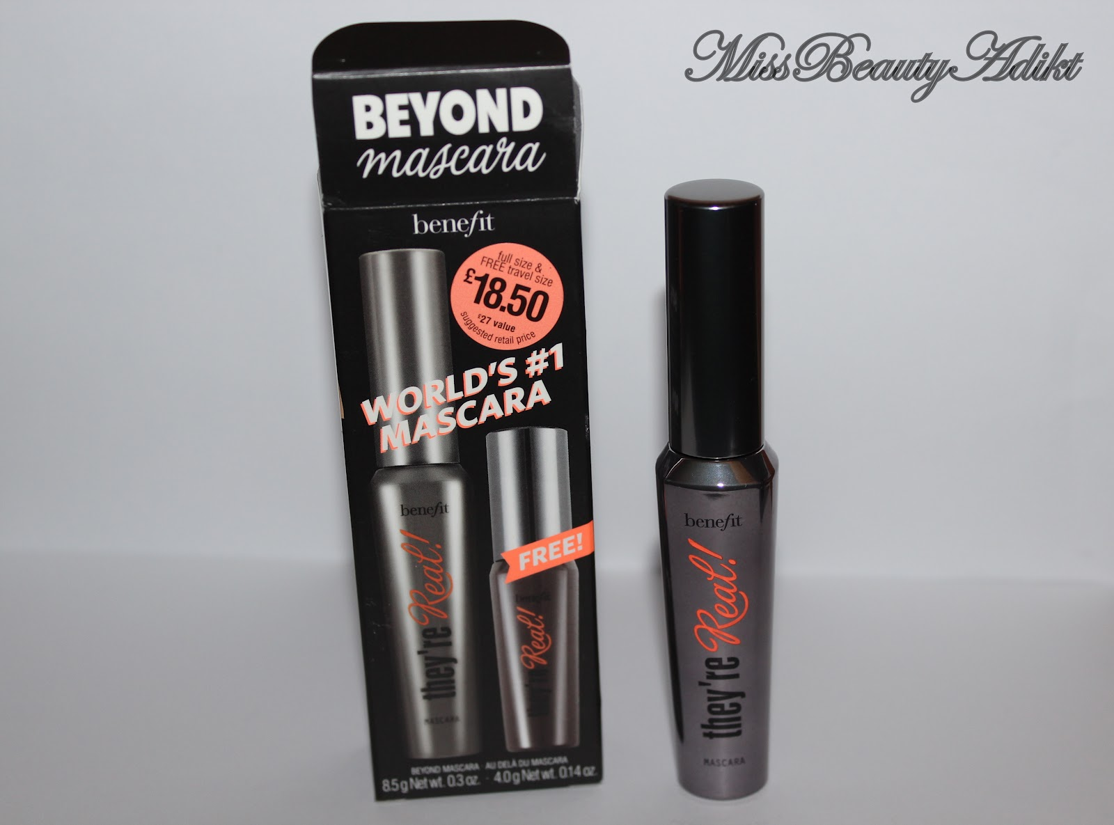 M I S S B E A U T Y A D I K T: Benefit They're Real Mascara Review