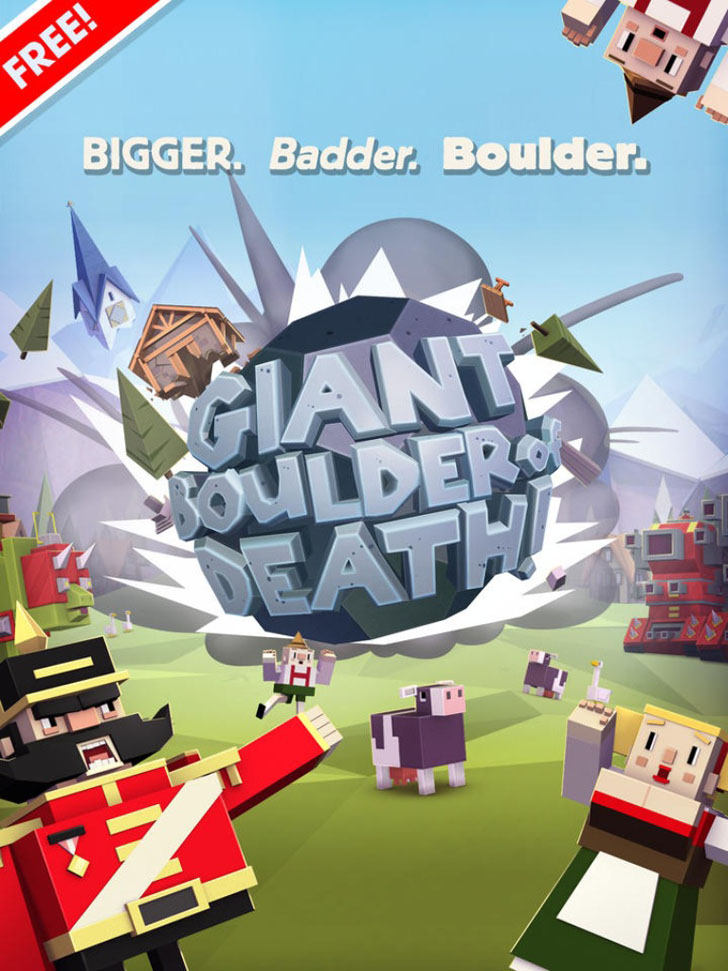 Giant Boulder of Death App iTunes App By [adult swim] - FreeApps.ws