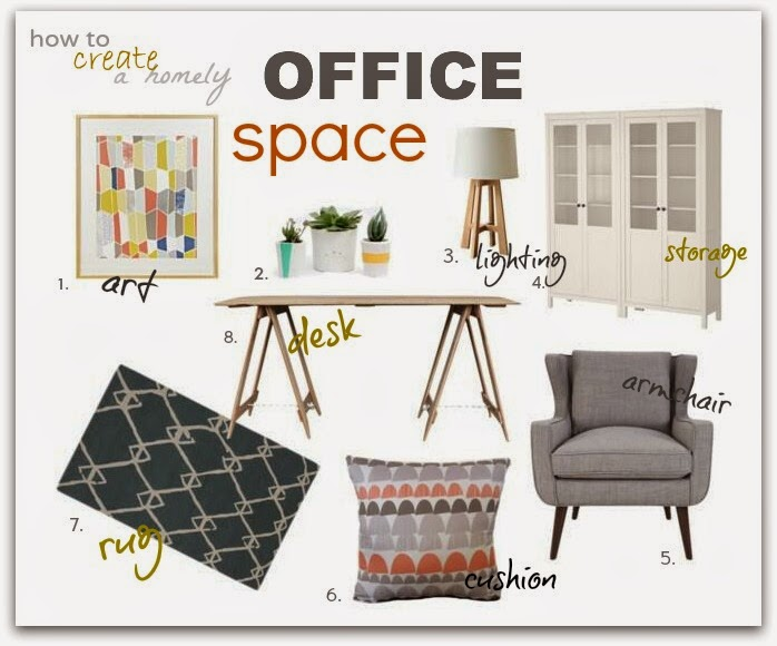 Chamomile and Peppermint Blog - How To Create a Warm Office Space