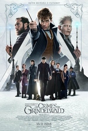 Animais Fantásticos - Os Crimes de Grindelwald HDRIP Legendado Torrent torrent download capa