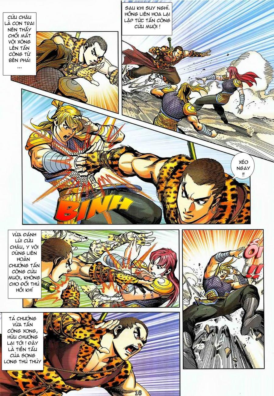 Thần Chưởng Long Cửu Châu chap 8 - Trang 16