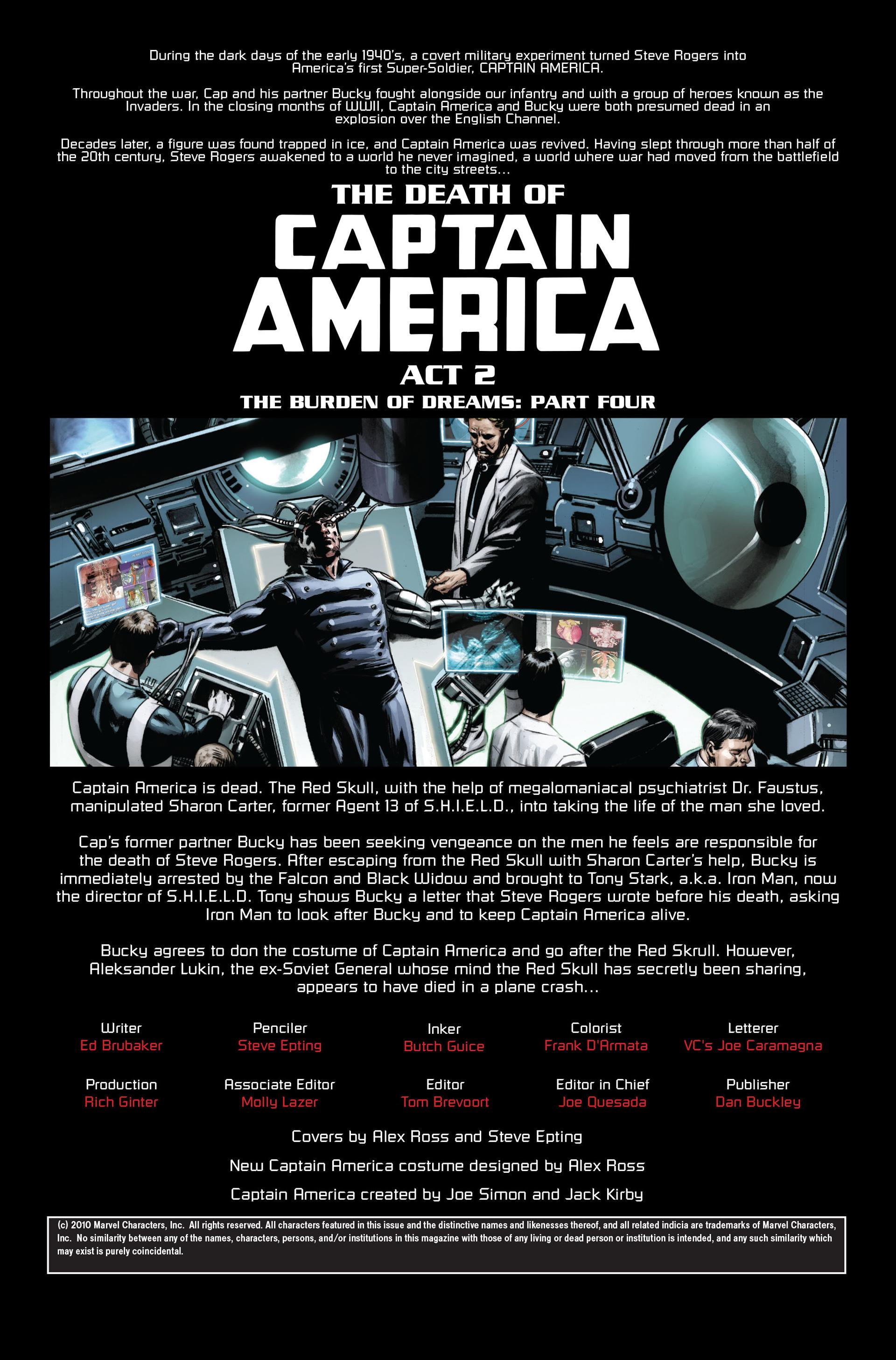 Captain America (2005) Issue #34 #34 - English 2