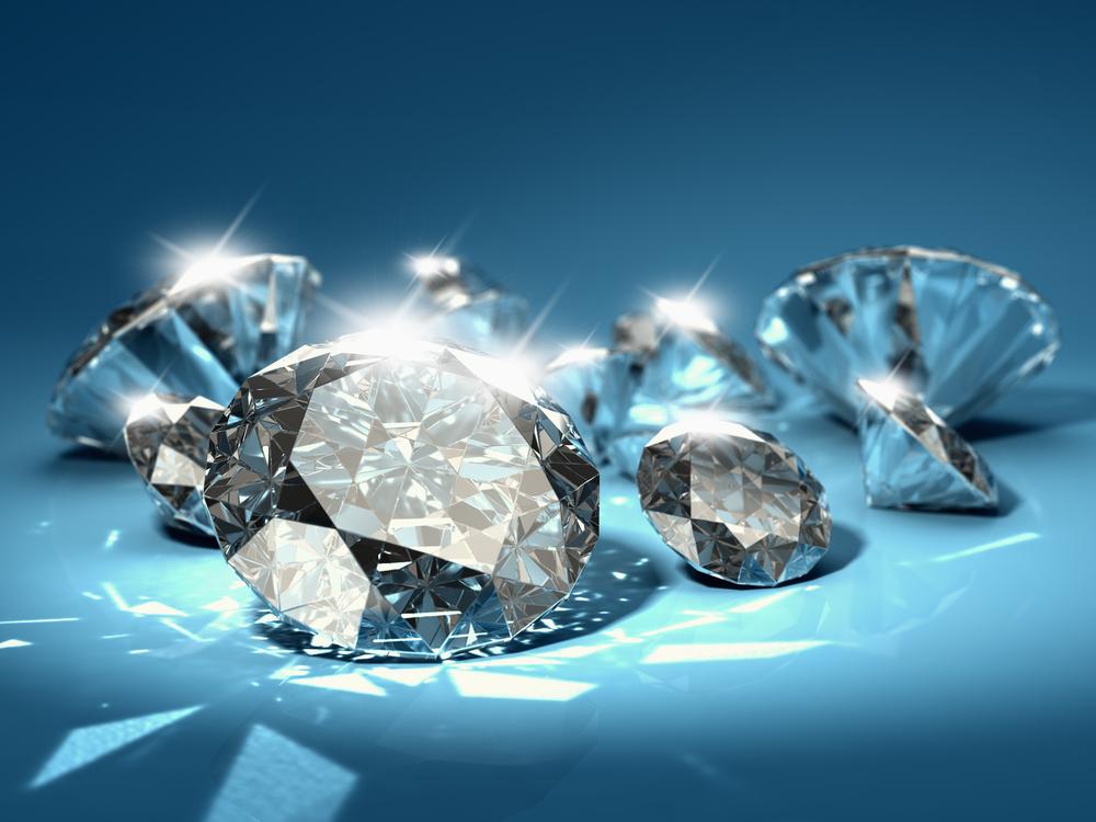 grootte van 1 karaat diamant
