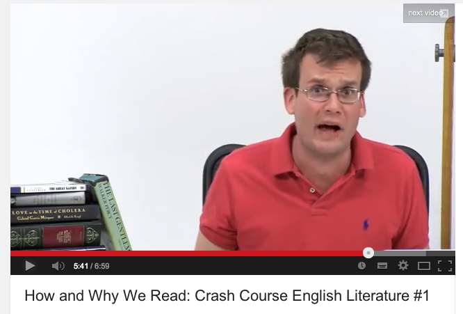 why we read literature Write a persuasive argument blog on the topic of why read literature a successful blog post (1-2 solid paragraphs) will: 1) present an original argument.